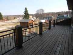 Outdoor Deck and View